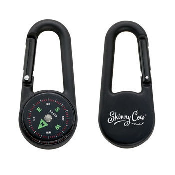 Colored Carabiner Compass