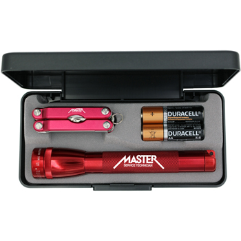 AA Mini-Mag-Lite with Multi-Function Mini Tool