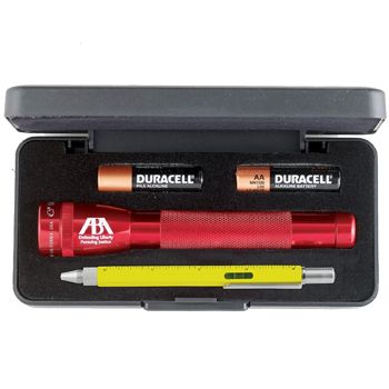 AA Mini Maglite With Architect MultiFunction Pen